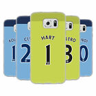 MAN CITY FC PLAYER HOME KIT 2016/17 1 ÉTUI COQUE EN GEL POUR SAMSUNG PHONES 1