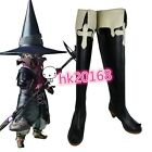 NEW Final Fantasy Black magician Cosplay Shoes Boots k.60