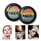 2 Colors Eye Shadow Makeup Cosmetic Shimmer Matte Eyeshadow Palette Set N98B