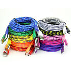 3Ft/1M 10Ft/3M Braided Micro USB Data & Sync Charger Cable Cord For Smart Phones