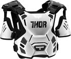 Thor Guardian 2017 Youth Chest Protector White/Black