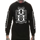 "REBEL8 ""Lowering Expectations"" L/S Tee (Black) Men's Rebel Eight Graphic T-Shirt"