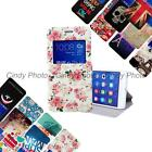 For Huawei Honor 6 Plus 6X PU leather Window Stand View Flip Cover Case Cartoon
