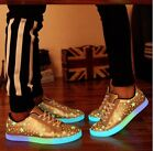 "New women""s Night luminous Light Up fluorescent shoes Casual sports shoe"