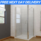 Frameless Pivot Hinge Shower Enclosure and Tray Glass Cubicle Door Side Panel