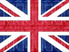 Union Jack Telephone Booths Art Poster Print Poster - 24x32