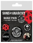 Sons of Anarchy Badge Pack 10x12.5cm