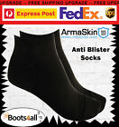 Anti Blister Free Ankle Socks Armaskin Work Running Hiking Travel Shoes BootsBlk