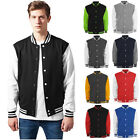 Retro College Jacken Urban Classic Uni Sweatjacket Freizeit Baseball Jacke