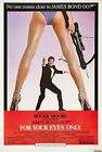 Home Wall Print - Vintage Movie Poster - FOR YOUR EYES ONLY 2 BOND - A4,A3,A2,A1 £5.99 GBP on eBay
