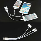 Portable 3 in 1 / 4 IN 1 USB Charger Cord Sync Data Cable for Phone Type-C Micro