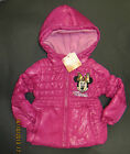 Girls coat MINNIE MOUSE pink winter age 2 3 4 7 8  years RRP £25 * NEW* BARGAIN