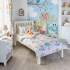 Little Big Cloud Forest Friends Childrens Duvet Quilt Cover Bedding Duvet Set