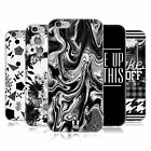 HEAD CASE DESIGNS BLACK AND WHITE TRENDS SOFT GEL CASE FOR APPLE iPHONE PHONES