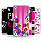 HEAD CASE DESIGNS PINK EMPIRE SOFT GEL CASE FOR SONY PHONES 1