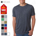 Next Level Men's PLAIN Poly/Cotton Short Sleeve Crew Neck T-Shirt M-6200