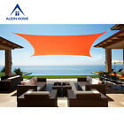 Alion Home© Waterproof Sun Shade Sail - Vibrant Colors (6 Sizes, 4 Colors)