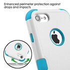 For iPhone 7 / 8 (4.7 inch) Hard&Soft Rubber Hybrid Shockproof Rugged Case Cover