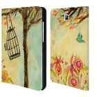 OFFICIAL WYANNE BIRDS LEATHER BOOK WALLET CASE COVER FOR SAMSUNG GALAXY TABLETS