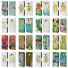 OFFICIAL WYANNE OWL LEATHER BOOK WALLET CASE COVER FOR SAMSUNG PHONES 1