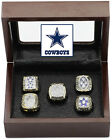 Dallas Cowboys Super Bowl Replica Ring Set (5) Years 71, 77, 92, 93, 95