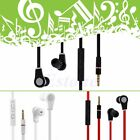 3.5mm In-Ear Earbuds Earphone Headset Headphone For iPhone Samsung MP3 4 iPod PC