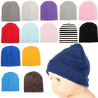 Newborn Baby Unisex Toddler Infant Boys Girls Beanie Hat Soft Cute Cap Cotton #