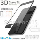 3D Full Coverage Tempered Glass Screen Protector Film For Apple iPhone 7 7 Plus