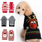 Pet Dog Cat Christmas Clothes Costume Puppy Knit Sweater Coat Apparel Halloween
