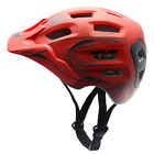 Cycling Bicycle Adult Mens Bike Safe Helmet Red PC+EPS color With Visor Mountain