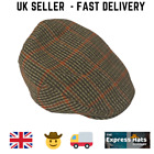COUNTRYSIDE CLASSIC TWEED FLAT CAP (6 sizes free nextday postage)