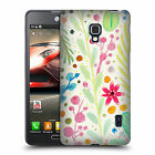 OFFICIAL SYLVIE DEMERS FLOWERS HARD BACK CASE FOR LG PHONES 3