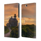 OFFICIAL MICHAEL BLANCHETTE LIGHTHOUSES LEATHER BOOK CASE FOR SONY PHONES 2
