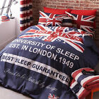 Catherine Lansfield Britains Finest Union Jack Duvet Quilt Cover Bedding Set