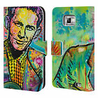 OFFICIAL DEAN RUSSO ICONIC 2 LEATHER BOOK WALLET CASE COVER FOR SAMSUNG PHONES 2