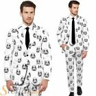 Mens Star Wars Stormtrooper Opposuit Fancy Dress Costume Suit Adult Outfit