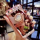 Fashion Mirror Glitter Crystal Diamond Stand Cover Case for iPhone 6/6S 7/7 Plus