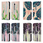 OFFICIAL NIKA MARTINEZ TROPICAL LEATHER BOOK WALLET CASE FOR MOTOROLA PHONES