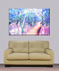 "Huge canvas print Abstract bedroom painting 30""x40"""