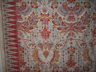 "Brunschwig & Fils ""Tamerlane"" novelty vintage fabric remnant multiple colors"