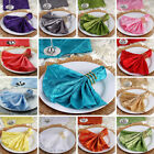 """17"""" Pintuck Taffeta NAPKINS Wedding Party Dinner Catering Home Table Decorations"""