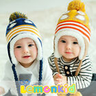 New Winter Baby Hat Colorful Baby Winter Beanies Cap SC17