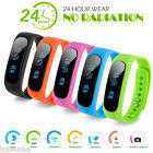 Bluetooth Smart Health Bracelet Sport Watch Pedometer Fitness Tracker Waterproof