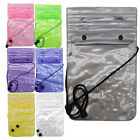 Mobile Phone Waterproof Pouch Float Bag Holder Dry Protection Outdoor Swimming