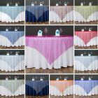TABLE OVERLAYS 60 in. Sheer Organza Wedding Catering Even...