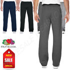 Fruit of the Loom 7.2 oz Sofspun Open Bottom Pocket Sweatpants M-SF74R