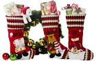Christmas Stockings Set with Santa and Friends (3 Pack)