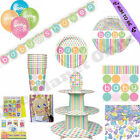 PASTEL NEUTRAL UNISEX BOY GIRL BABY SHOWER PARTY ACCESSORIES DECORATIONS GAMES