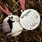 First Christmas as Mr & Mrs Personalised Calendar Tree Ornament