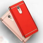 New Slim 3IN1 Plating Shockproof Armor Skin Case Cover for Xiaomi Redmi Note 4